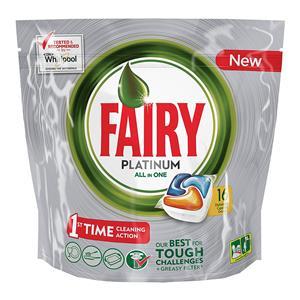 Capsule Lavastoviglie Fairy Platinum All in One - Arancia - 16 ...