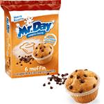 Muffin Mr Day - Con Pepite di Cioccolato Fondente - 6 Muffin - 255 gr