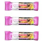 16 Barrette 36 gr - Fruittella - Good For You - Semi di Chia - Ciliegie & Mirtilli Rossi