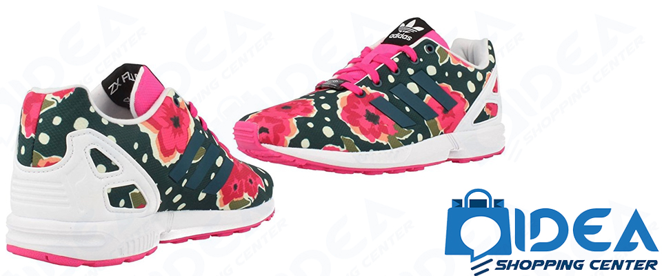 scarpe adidas fiori
