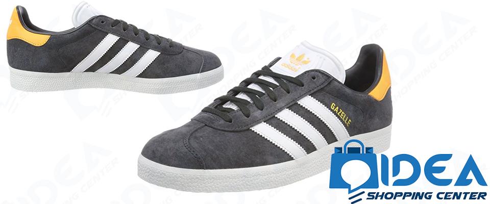 Adidas Ginnastica Grigio Giallo Sneakers Gazelle Scarpe Uomo Scuro 1JcT3FKl